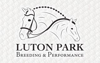 Luton Park Breeding & Performance — Logo Design